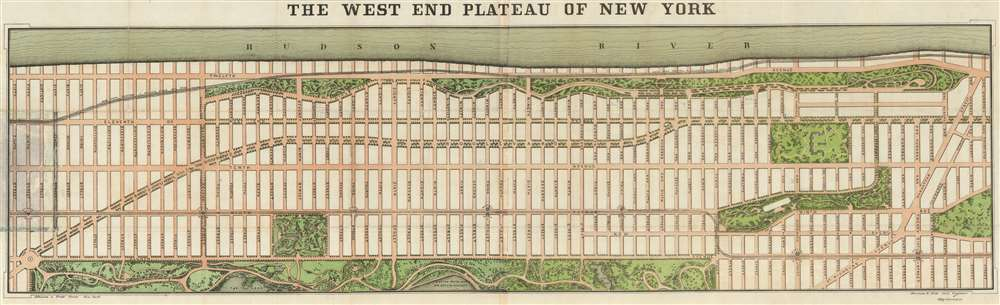 The West End Plateau of New York.
