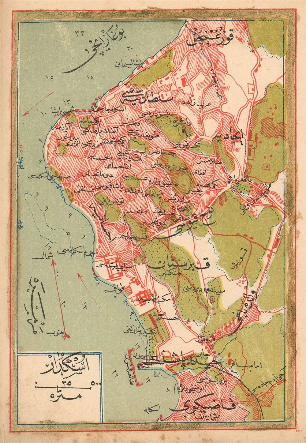 (Turkish Plan of Üsküdar)