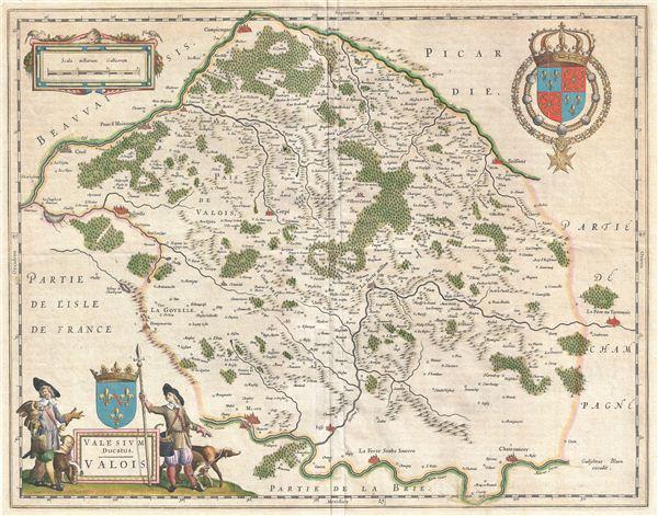 Valesium Ducatus.  Valois.