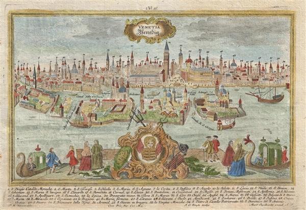 Venetia Venedig.