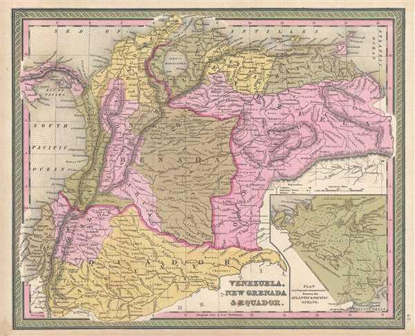 Venezuela, New Granada and Equador. - Main View