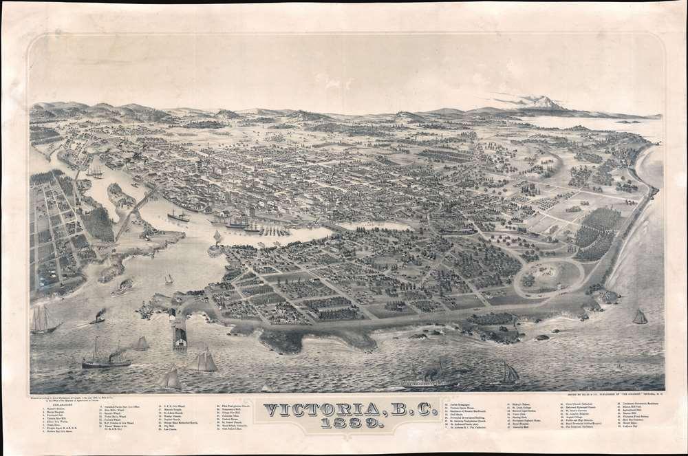 Victoria, B.C. 1889. - Main View