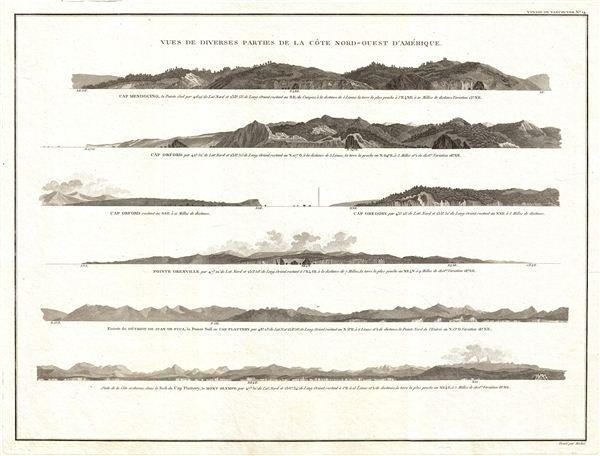 Vues de Diverses Parties de la Cote Nord-Ouest d'Amerique. - Main View