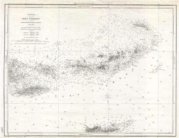 Antilles.  Iles Vierges. - Main View