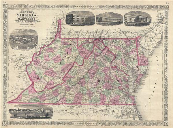 Johnson's Virginia, Delaware, Maryland and West Virginia.