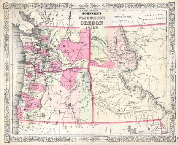 Johnson's Washington, Oregon and Idaho - Main View