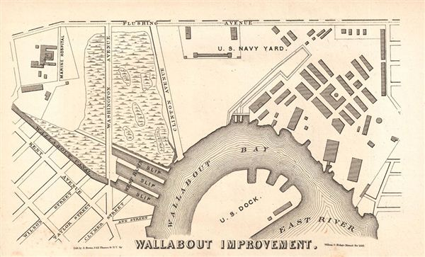Wallabout Improvement.: Geographicus Rare Antique Maps on map of bronx ny, map of cortlandt ny, map of carolina pr, map of park avenue ny, map of jamaica estates ny, map of manhattan ny, map of long island ny, map of new york ny, map of queens ny, map of brownsville ny, map of hamden ny, map of upstate ny, map of new lisbon ny, map of staten island ny, map of north river ny, map of clarkstown ny, map of granby ny, map of harlem ny, map of cold spring harbor ny, map of west village ny,
