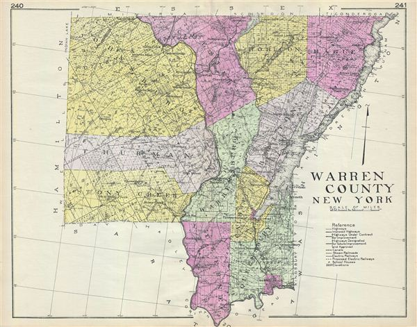Warren County New York. - Main View
