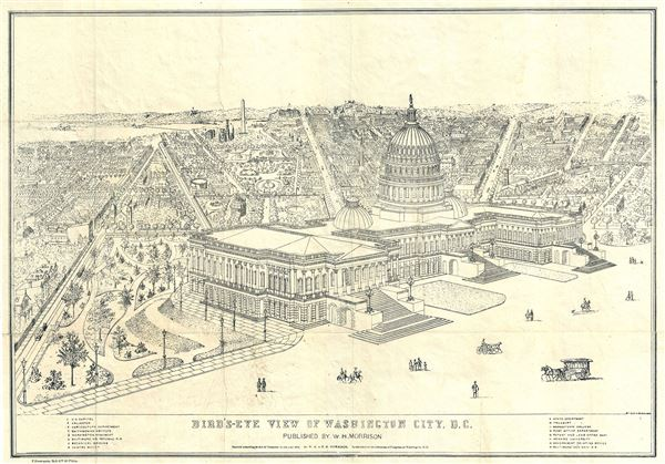 Bird's-Eye View of Washington City, D.C.