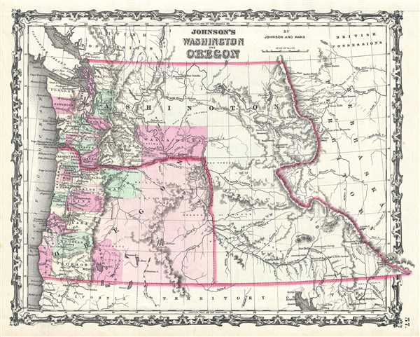 Johnson's Washington and Oregon.