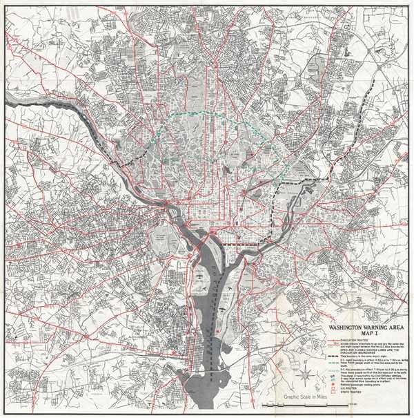 Washington Warning Area Map I.