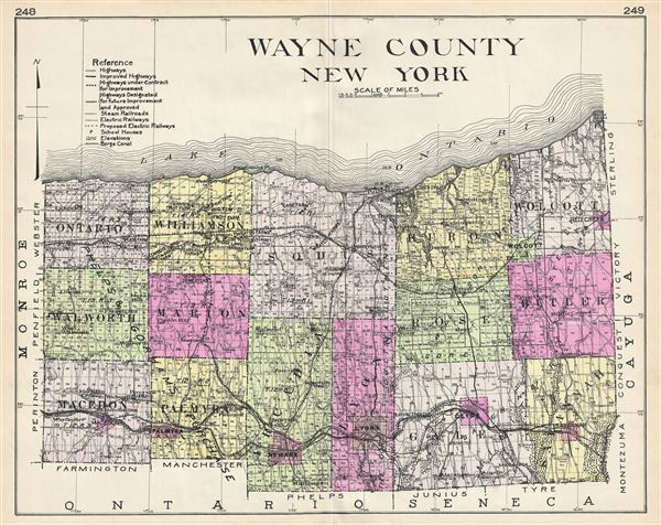 Wayne County New York. - Main View