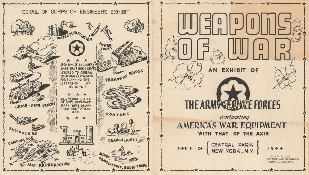 Weapons of War. / Victory is Dear Buy War Bonds. - Alternate View 1