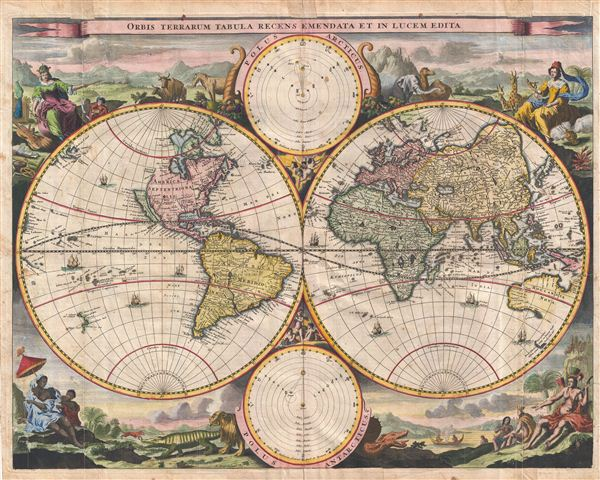 Orbis Terrarum Tabula Recens Emendata et in Lucem Edita. - Main View