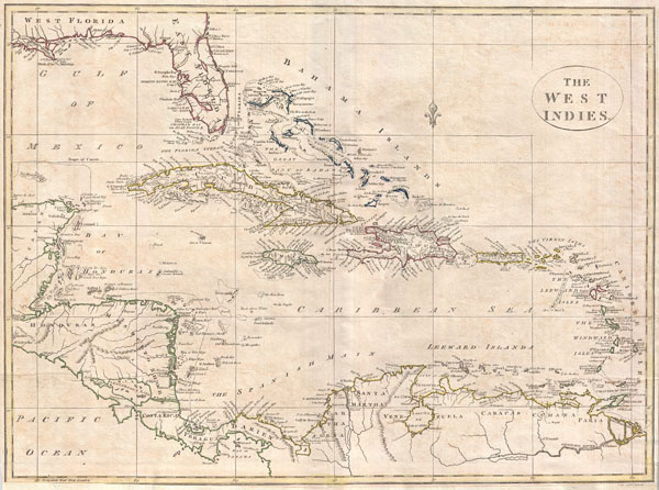The West Indies. - Main View