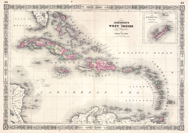 Johnson's West Indies. - Main View