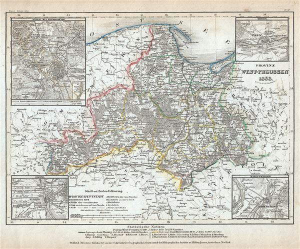 Provinz West-Preussen. - Main View