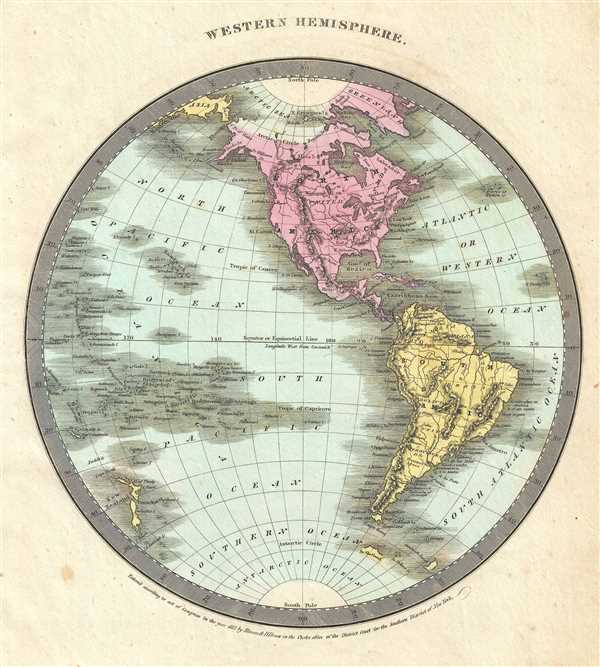 Western Hemisphere. - Main View