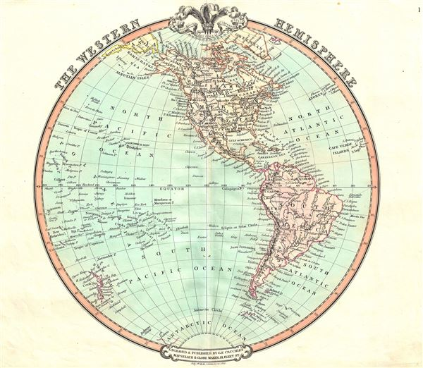 The Western Hemisphere. - Main View