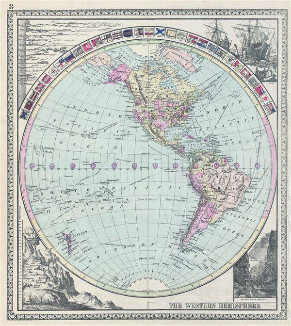 The Western Hemisphere.