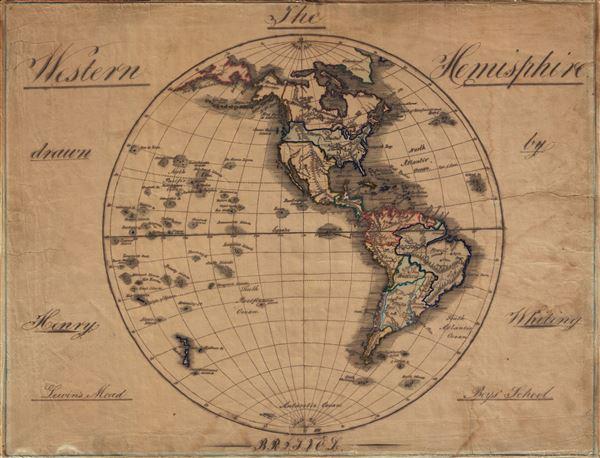 The Western Hemisphere. - Main View