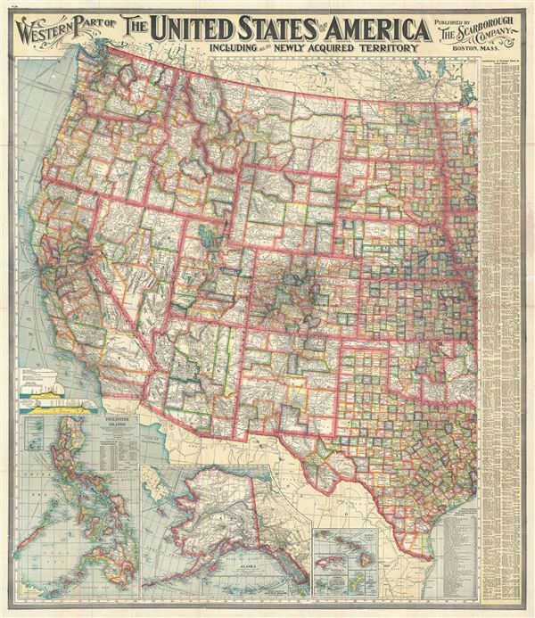 Western Part of The United States of America including all the ... on map of west central us states, map of california and bordering states, map of usa west region, western states map north america, map western usa states, map of western coast of north america,