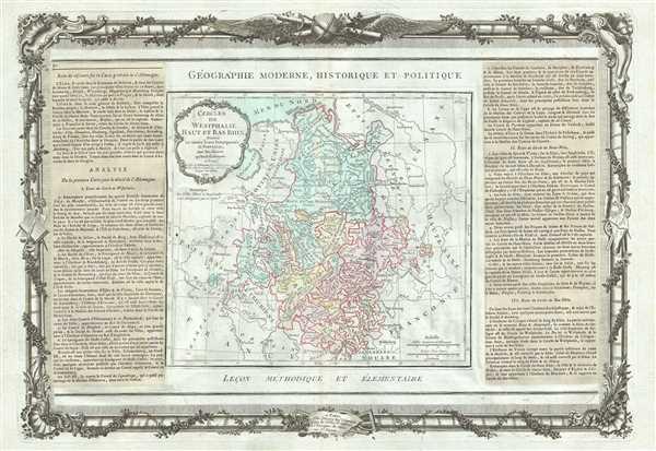 Cercles De Westphalie, Haut et Bas Rhin.