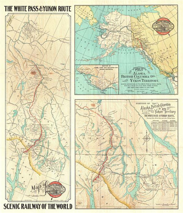 The White Pass and Yukon Route Scenic Railway of the World. - Main View