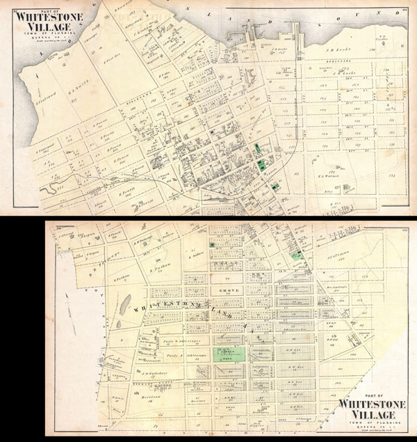 Part of Whitestone Village. Town of Flushing, Queens Co. L.I. / Part of Whitestone Village. Town of Flushing, Queens Co. L.I.