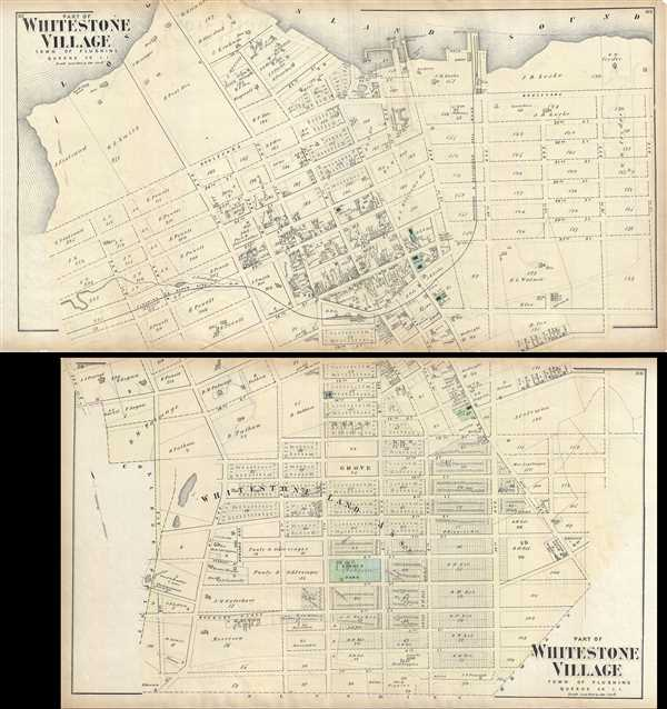 Part of Whitestone Village. Town of Flushing, Queens Co. L.I. / Part of Whitestone Village. Town of Flushing, Queens Co. L.I. - Main View
