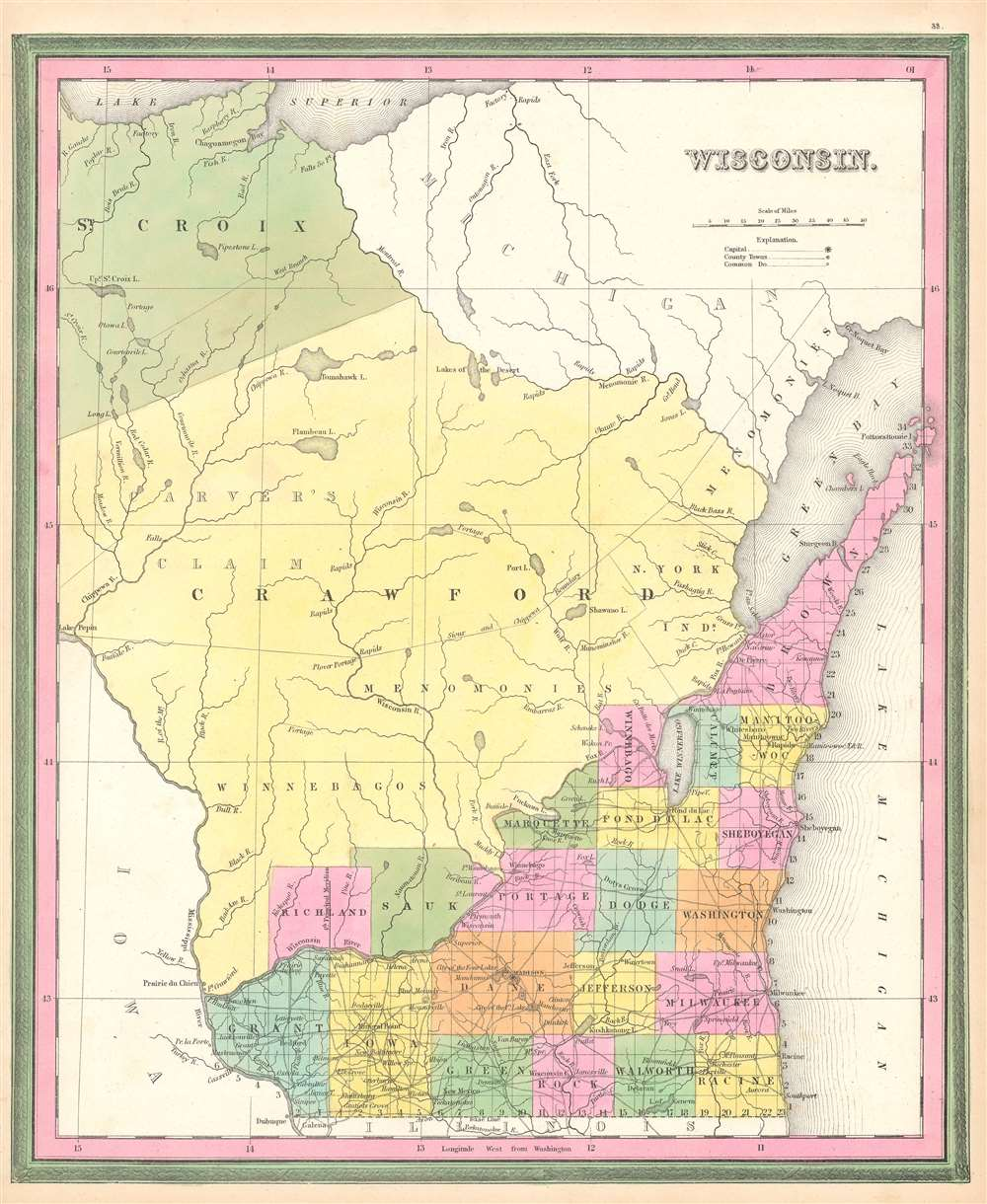 Wisconsin. - Main View