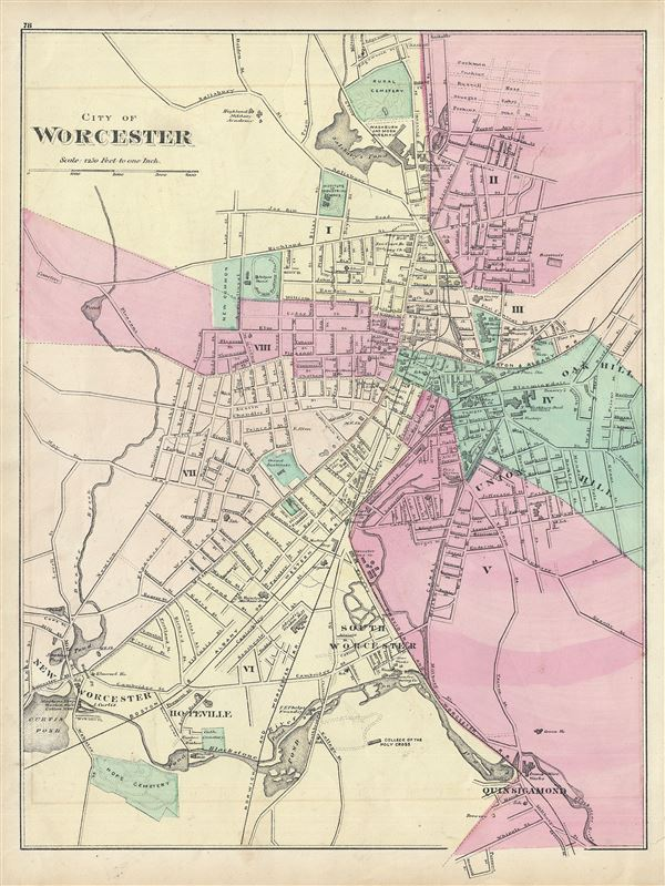 City of Worchester. - Main View