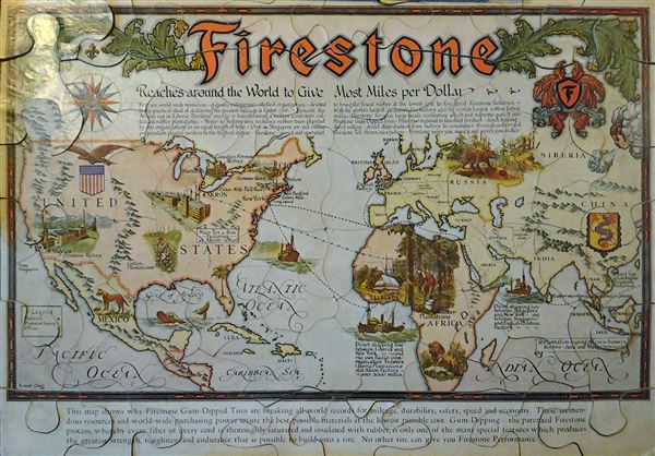 Firestone.  Map Puzzle.