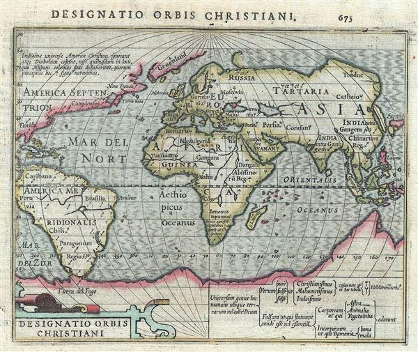 Designatio Orbis Christiani. - Main View