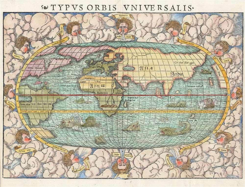 Typus Orbis Universalis. - Main View