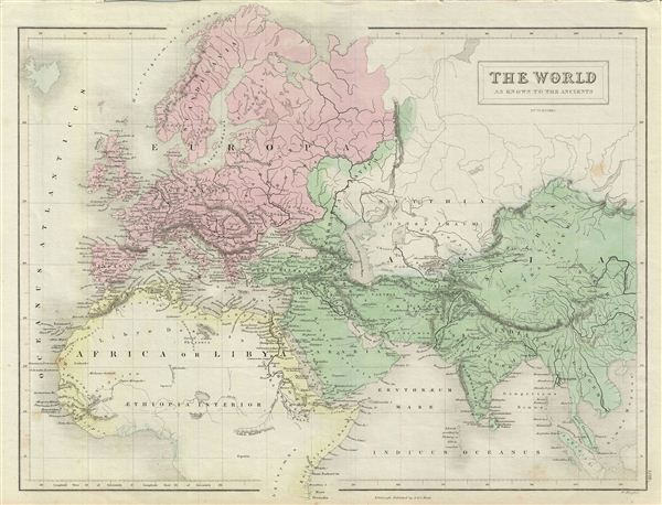 The World as known to the Ancients. - Main View