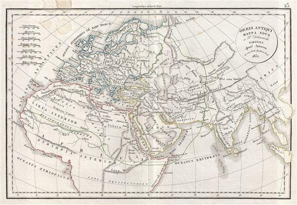 Orbis Antiqui Mappa Nova.