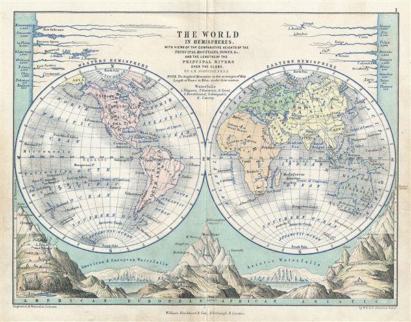 The World in Hemispheres.