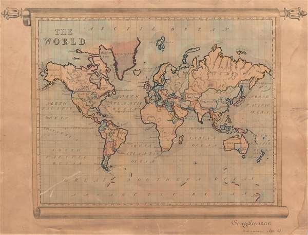 The World.  George Freeman Midsummer Age 13.