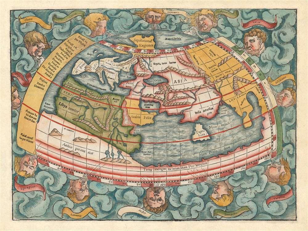 [La Secunde Table Generale Selon Ptol.] - Main View