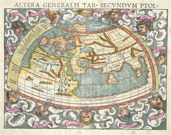 Altera generalis tab. Secundum Ptol. - Main View