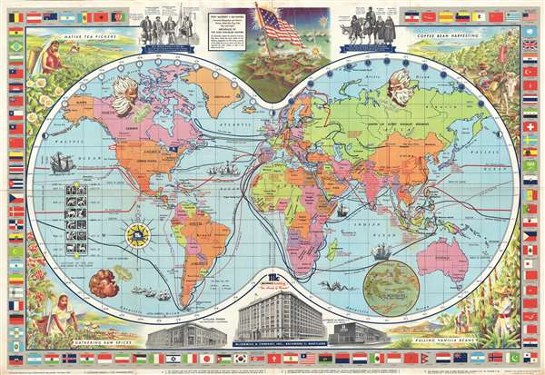 McCormick's Map of the World.