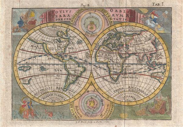 Totius Orbis Terrarum Representatio. - Main View