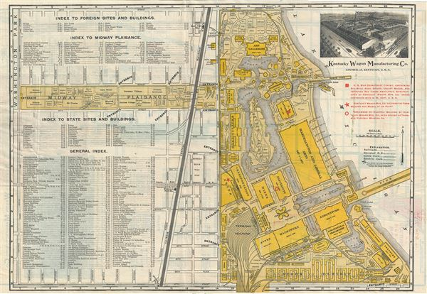 Indexed Guide Map and key to World's Fair Buildings, Grounds ... on world cotton centennial map, ny world fair pavilion map, world fair site map, seattle center map,