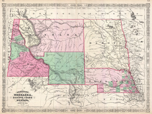 Johnson's Nebraska, Dakota, Idaho and Montana.