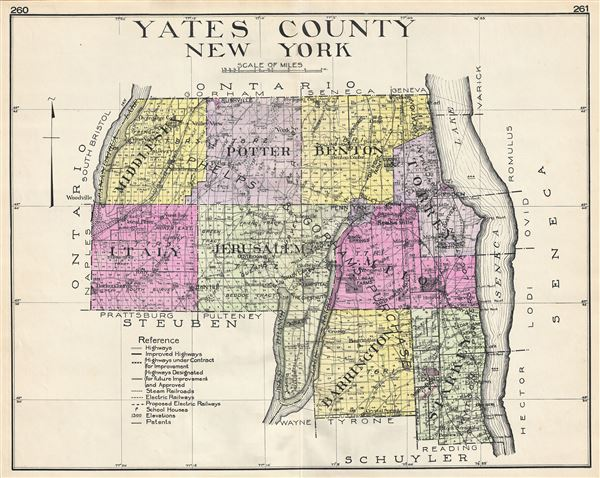 Yates County New York.