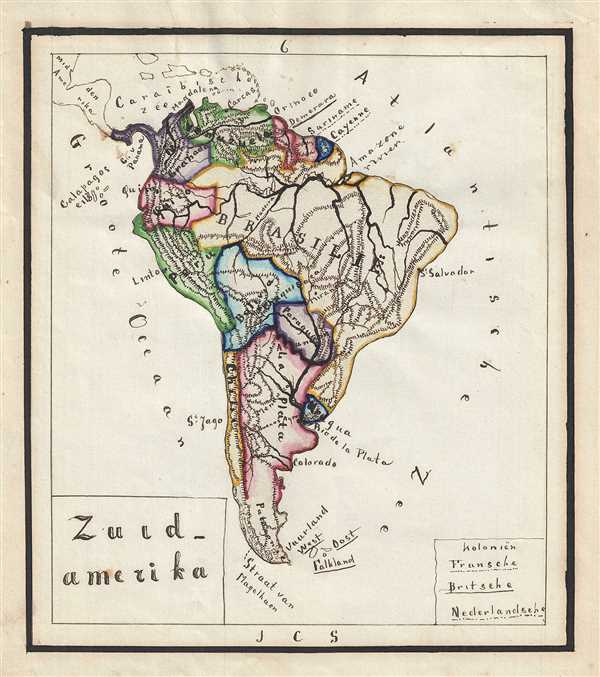 Zuid - Amerika.