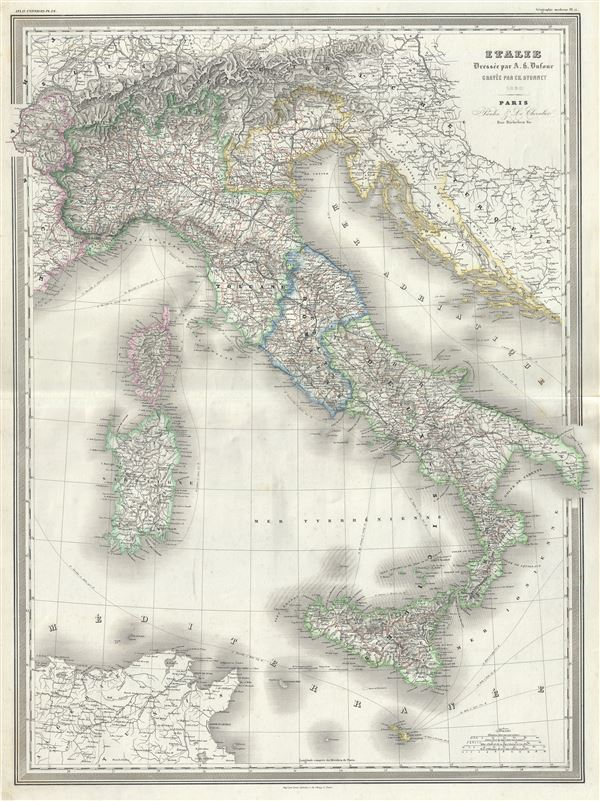 Italie. - Main View