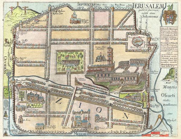 IERUSALEM qualis (ut plurimum) extitit ætate Solomonis
