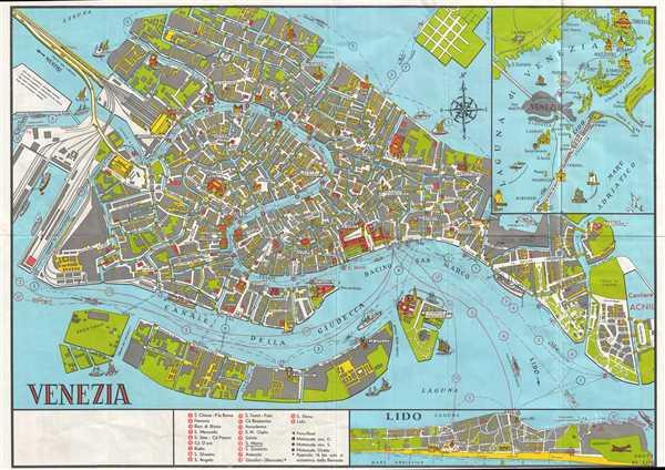 Venezia Geographicus Rare Antique Maps